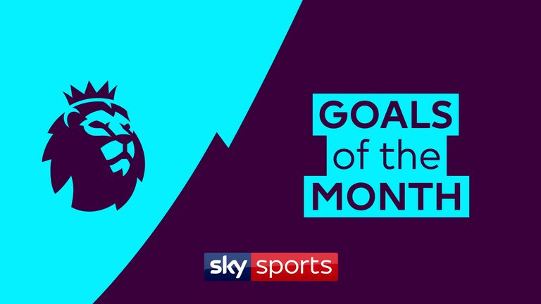 WATCH: Premier League Goals of the Month for September