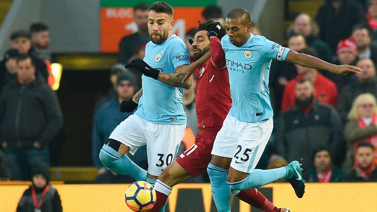 Anfield Hoodoo Haunts Manchester City In Top-Of-Table Clash Against Liverpool
