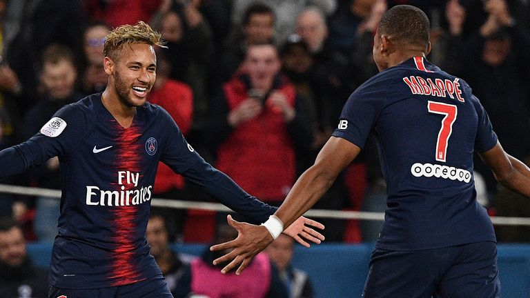 Mbappe scores four as PSG beats Lyon