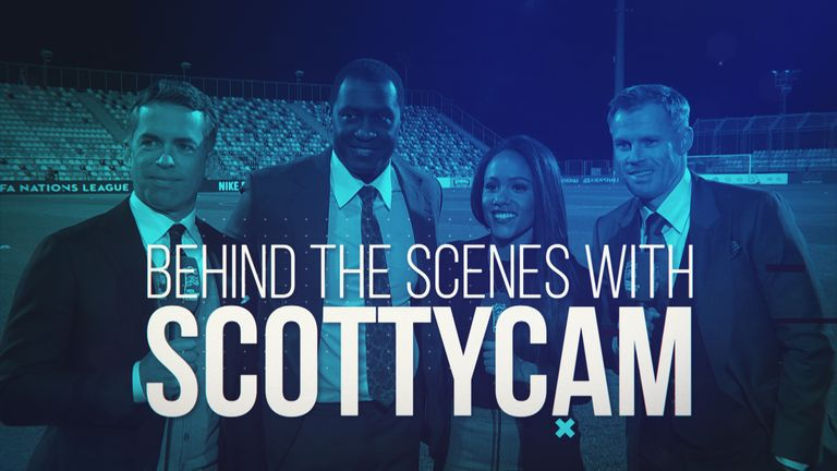 Scotty Cam: Alex Scott takes you behind the scenes for Croatia-England