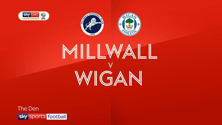 Highlights of the Sky Bet Championship match between Millwall and Wigan Athletic.
