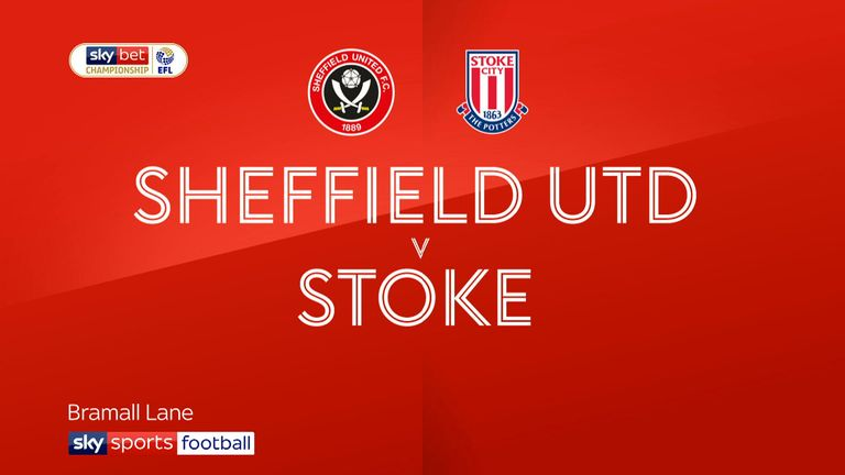 Highlights of the Sky Bet Championship match between Sheffield United and Stoke City.