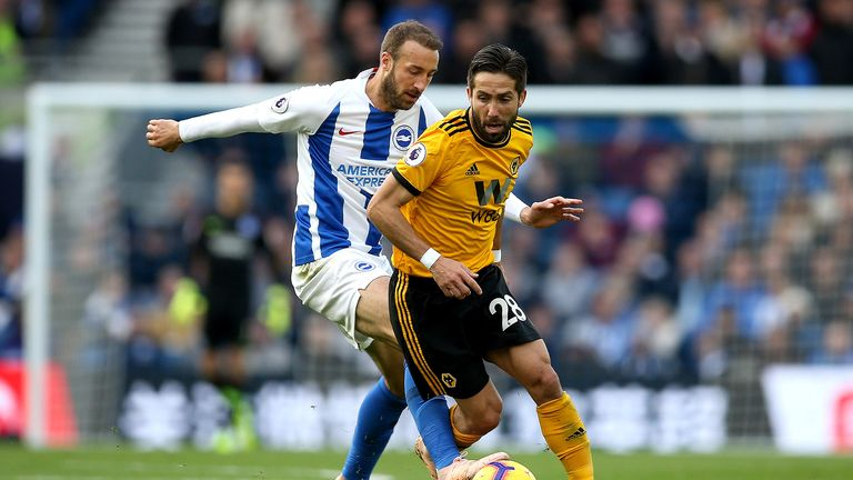 brighton 1 0 wolves match report amp highlights