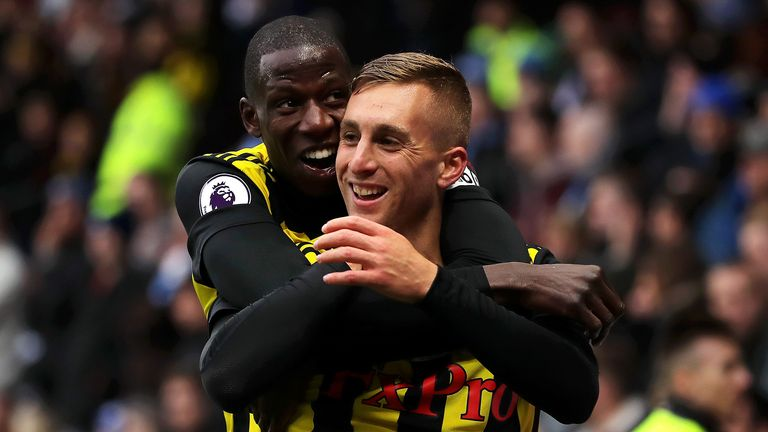 Highlights from the Premier League match between Watford and Huddersfield