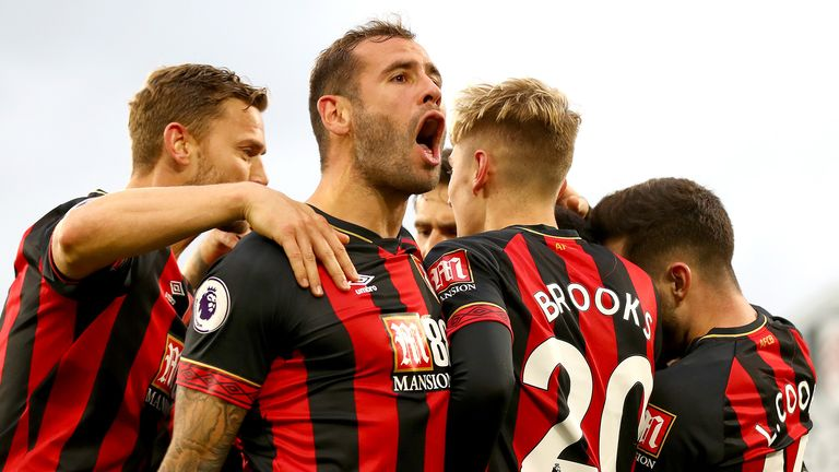 Highlights from Bournemouth's win against Fulham in the Premier League.