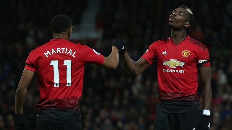 Manchester Utd 2-1 Everton