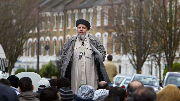 Abu Hamza preached to Islamic extremists during his time as imam of the now-reformed Finsbury Park Mosque