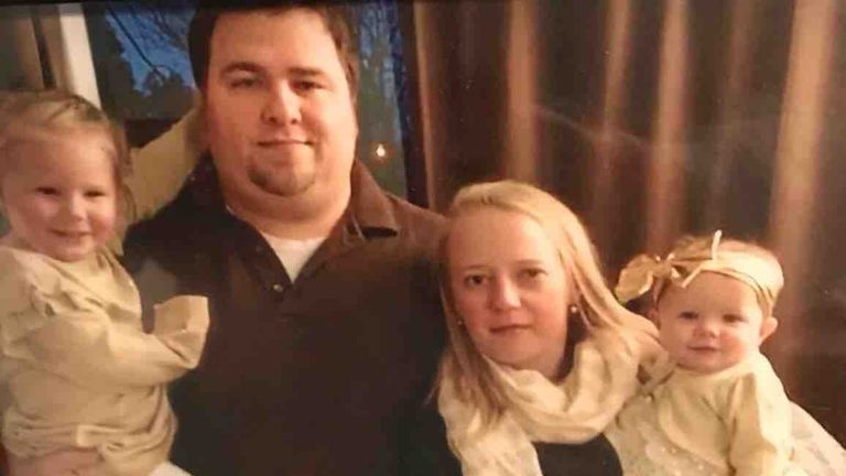 Adam and Abby Jackson were killed in the New York limousine crash. Pic: GoFundMe