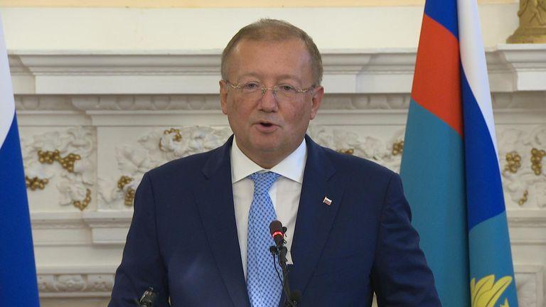 Russia's UK ambassador Alexander Yakovenko