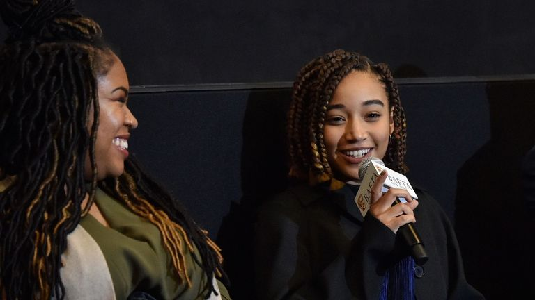 'The Hate U Give' BAFTA film screening, New York, USA - 16 Oct 2018
