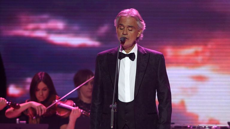 Andrea Bocelli will perform two pieces at the royal wedding service