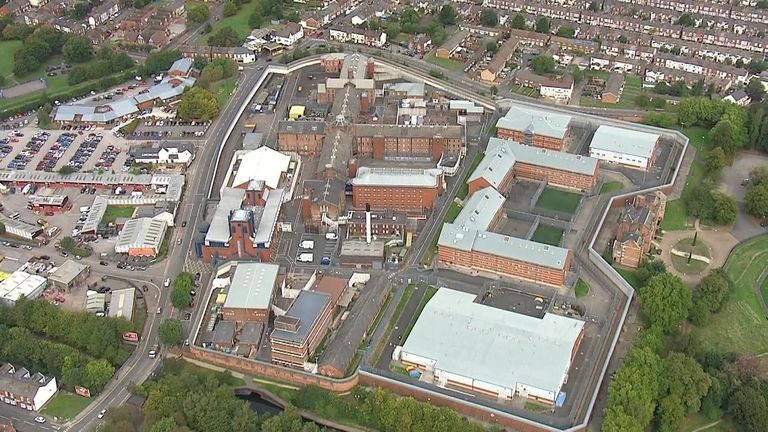 Birmingham prison, which the government has taken back control of