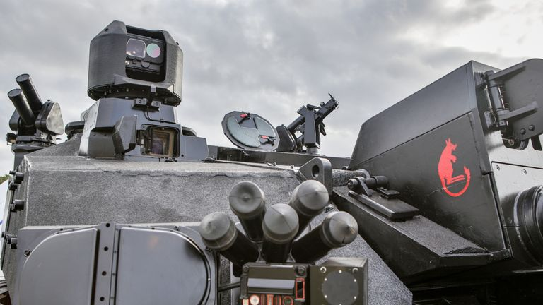 Enemy weapon systems will be identified by the system which will automatically point a gun a t the source. Pic: BAE Systems