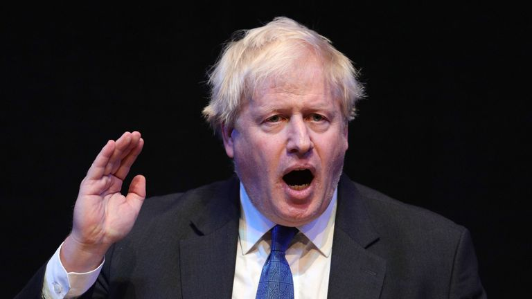 Boris Johnson says 'now is the time to chuck Chequers'