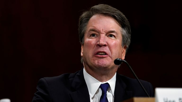 Brett Kavanaugh has denied claims he was an excessive drinker in his student days