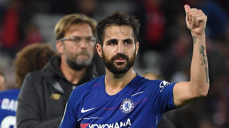 The electric bicycle had been custom made for the Chelsea star Cesc Fabregas