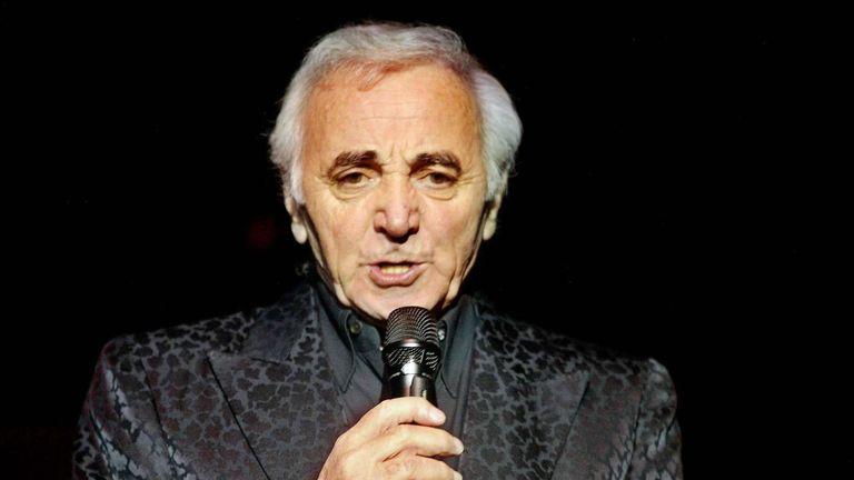 Charles Aznavour in 2002