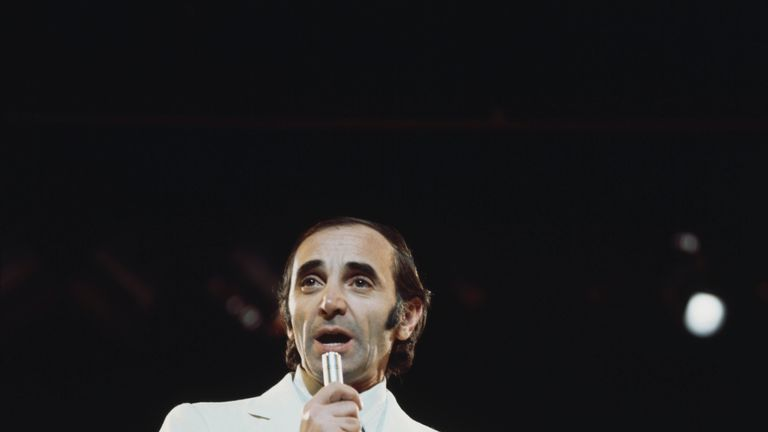 Charles Aznavour in 1970