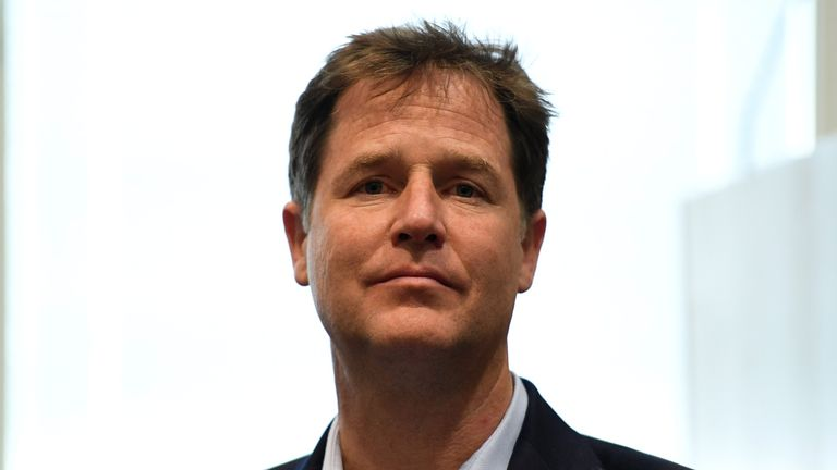 Nick Clegg will move to Silicon Valley to take up the job