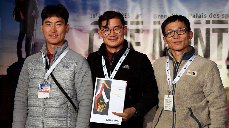 Kim Chang-ho was a world-renowned climber