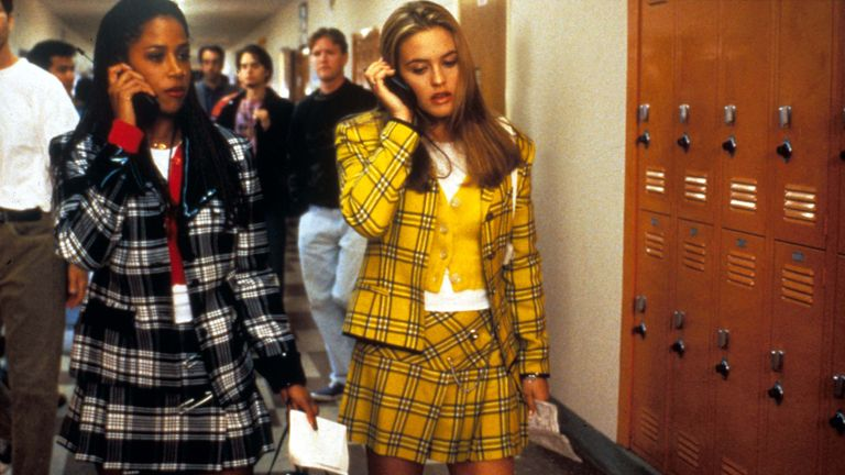 Alicia Silverstone (right) and Stacey Dash as Cher and Dionne in Clueless