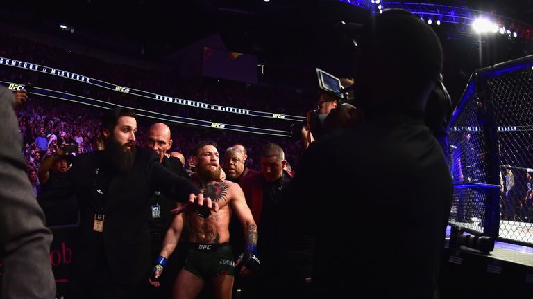 Conor McGregor announces his retirement