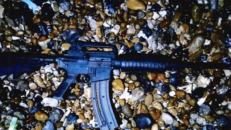 Savage used this semi-automatic rifle to carry out the execution-style murders