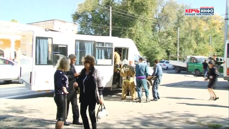 Bomb blast at Kerch college in Crimea