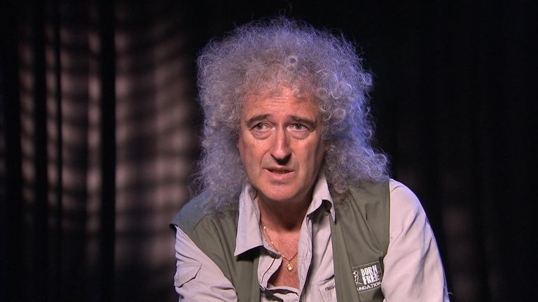Brian May is one of those against culling