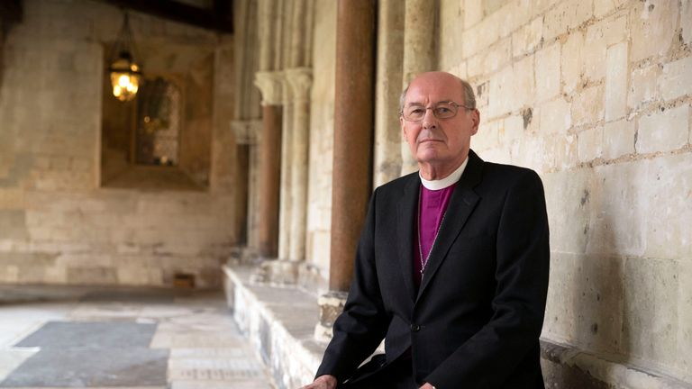 The Rt Revd David Conner, Dean of Windsor, who will conduct the wedding of Princess Eugenie to Jack Brooksbank