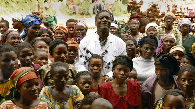 Denis Mukwege has dedicated his life to defending victims of sexual violence in Congo. Pic: Nobel Prize
