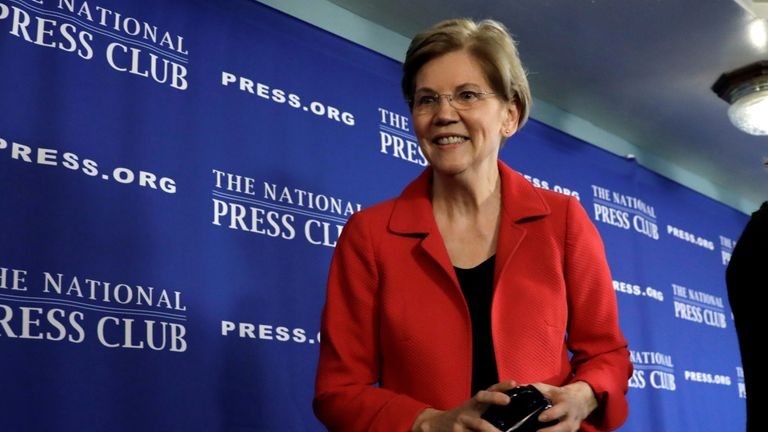 Elizabeth Warren is the most prominent female 2020 presidential candidate