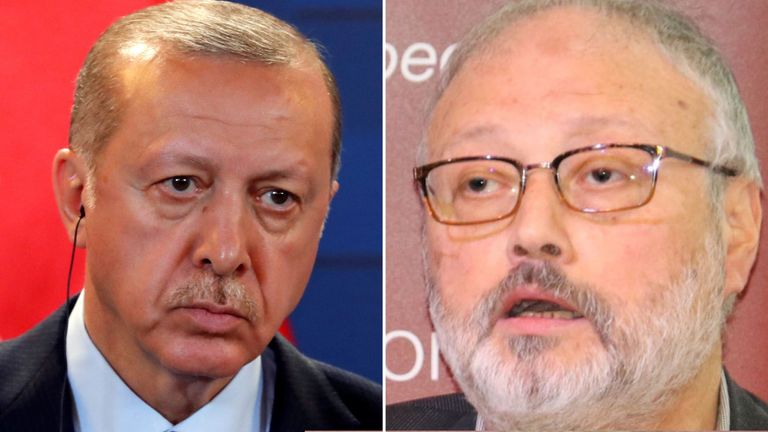 President Erdogan has said the missing journalist was a friend of his