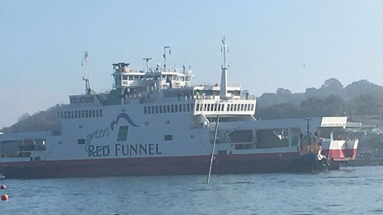There were more than 50 passengers on the ferry. Pic: Adi Imsirovic