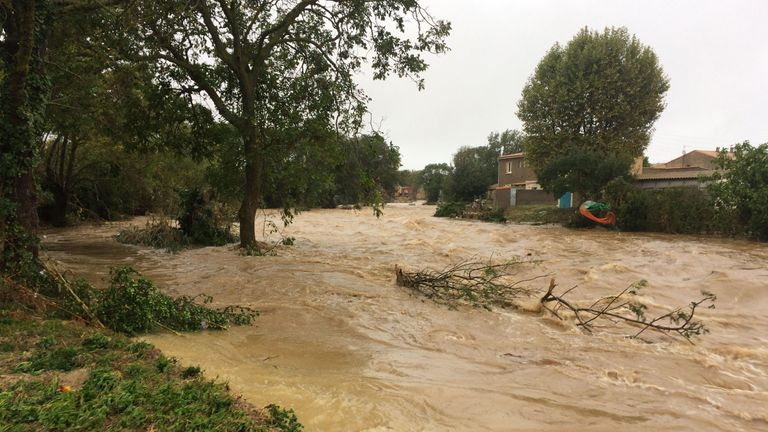 Six people died in the flash flooding