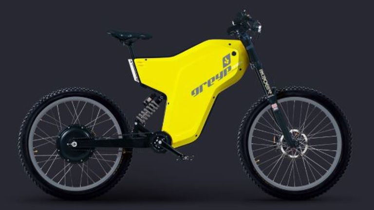 Grigoruta stole a customised version of this Greyp G12S. Pic: Greyp Bikes