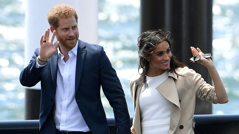 Were Excited To Join Club Meghan And Harry Chat To Oz Crowds