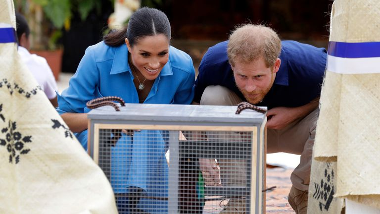 Harry and Meghan are on day 11 of their 16-day tour of Australia and the South Pacific