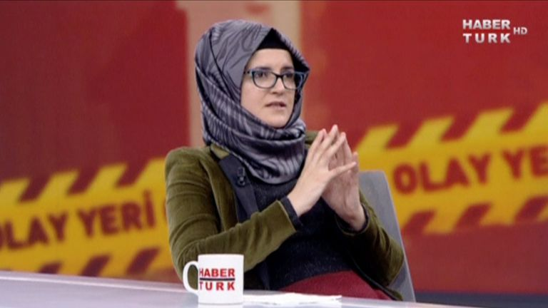 Jamal Khashoggi's fiancee Hatice Cengiz gave her first TV interview