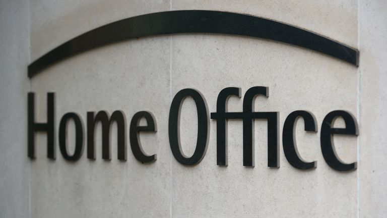 """File photo dated 11/1/2018 of signage for the Home Office in Westminster, London. EU citizens granted """"settled status"""" to stay in the UK after Brexit should be given physical residency cards to prove their rights, not forced to rely on online checks, a parliamentary report has said."""
