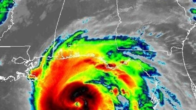 Michael is strengthening further as it nears Florida. Pic: National Hurricane Center