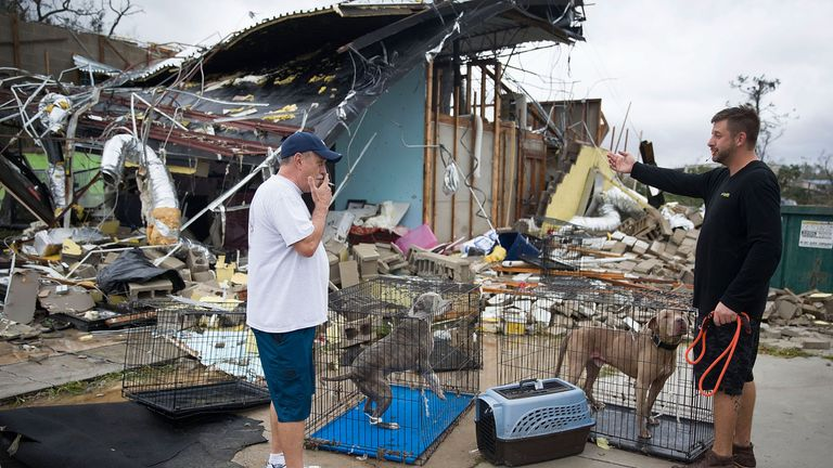 Hurricane Michael slammed into Florida's Panhandle region