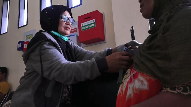 The staff at Dolo Community Health Centre treat hundreds of patients a day