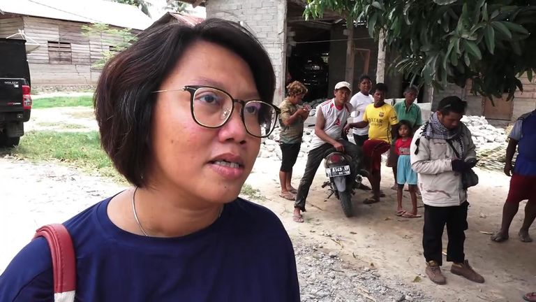 Dr Budi expressed her gratitude for the two staff members who returned to work
