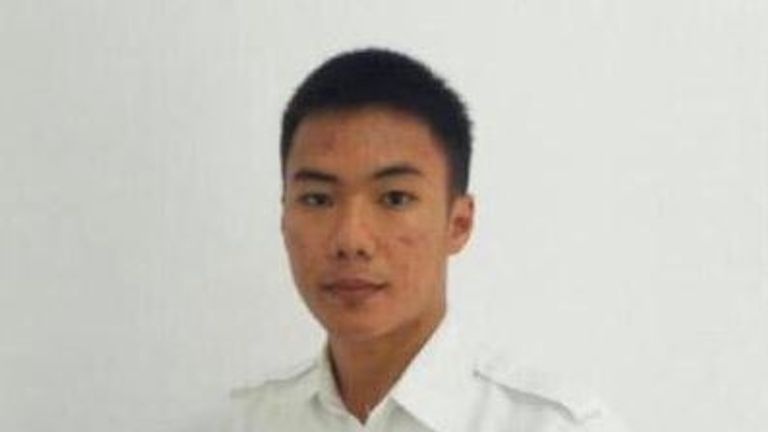 Anthonius Gunawan Agung was just 21 years old. Pic: Twitter/ @AirNav_Official