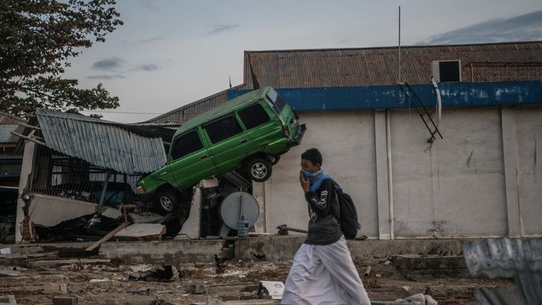 Sulawesi is reeling from a powerful earthquake and tsunami