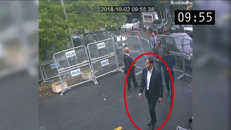 Hit squad member seen at Saudi consulate