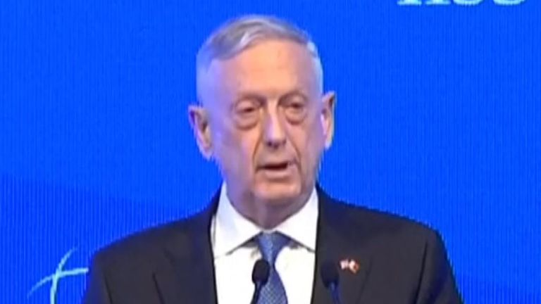 US defence secretary says 'we are going to get to the bottom' of Khashoggi killing