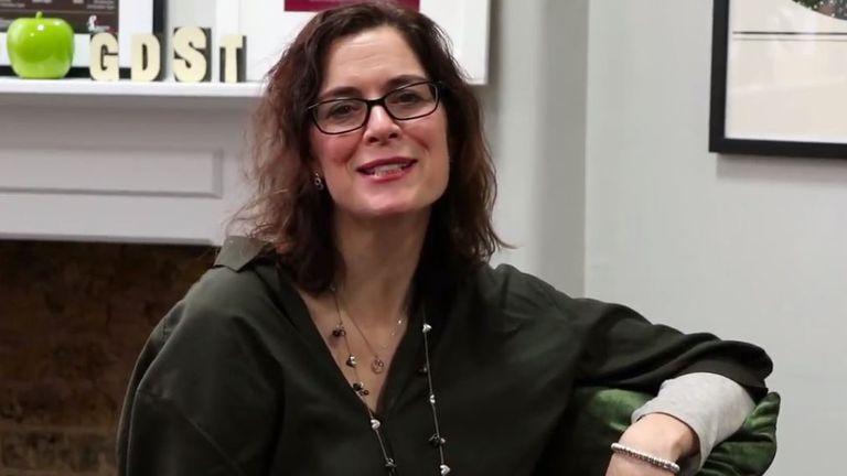 Wimbledon High School head teacher Jane Lunnon has spoken about reality TV shows such as Love Island. Pic: Wimbledon High School/YouTube