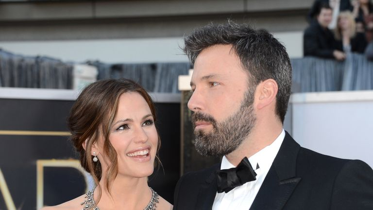 Ben Affleck and Jennifer Garner separated in 2015